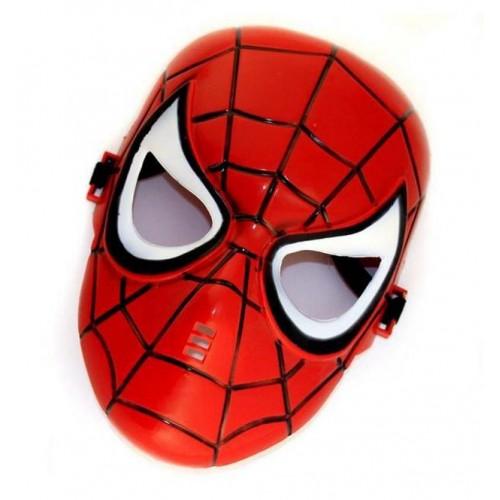 Children Spiderman Full Face Mask Costume Halloween Carnival  Party Superhero Mask