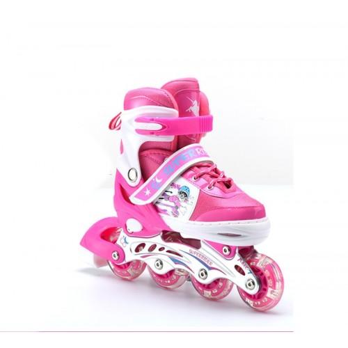 Children Kids Inline Skate Roller Skating Shoes Adjustable