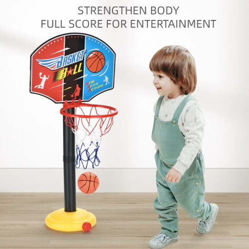 Children's Basketball Stand Portable Adjustable Indoor Plastic Parent Child Interactive Toy