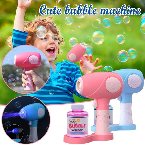 Children's Toys 75ml Automatic Bubble Machine Blower Outdoor Toy