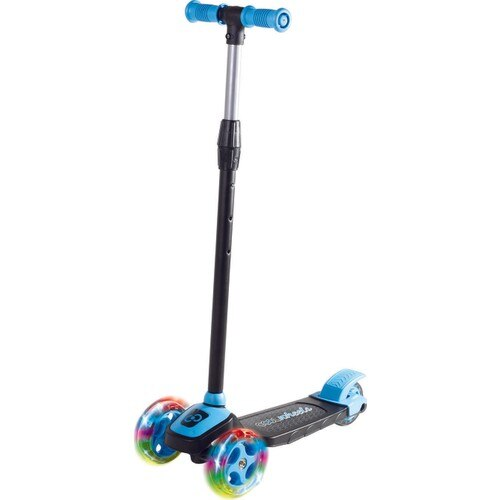 Cool Wheels Twist Led Illuminated 3 Wheel Height Adjustable Scooter