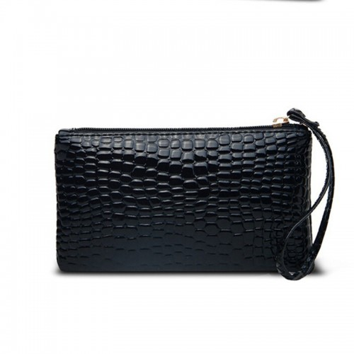 Crocodile Ladies Wallet Capacity Coin Purse
