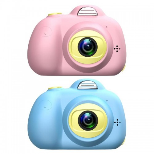 D6 Children Mini HD Camera Toys Dual Lens Digital Photo Camera For Kids Automatic Lock Positioning