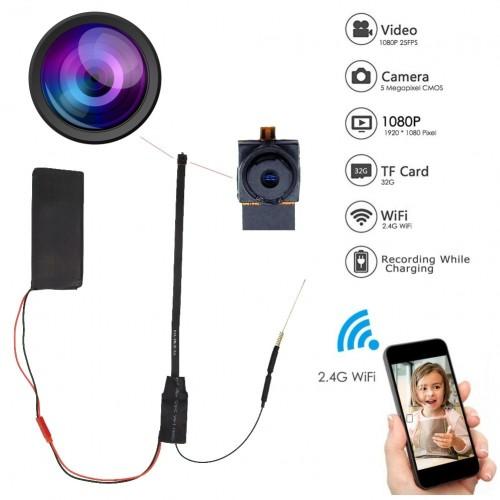 DIY WiFi Camera HD 1080P Mini P2P Motion Detection Surveillance Security Camcorder