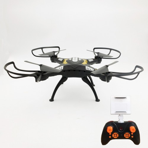 DRONE FP-HX761 Quadricopter Remote Control With Gyro 6 Axis 3D Flight With Lock Height FPV Camera