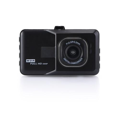 Vehicle BlackBox DVR Dash Cam Video Recorder LCD FHD Loop Recording
