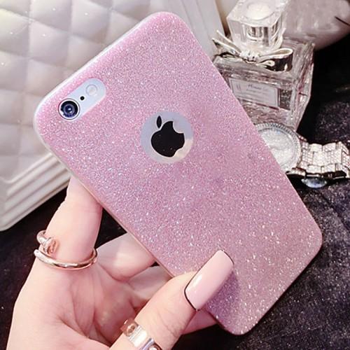 Diamond Glitter Soft silicone Coque For iPhone 5 5S SE 6 6S 7 Plus, Samsung Galaxy S5 S6 S7 Edge S8 Plus J5 A5 2016 2017 Case