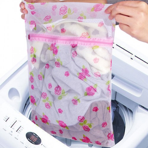 Drawstring Bra Underwear Products Laundry Bags Baskets Mesh Bag Household Cleaning Tools Accessories Laundry Wash Color Random