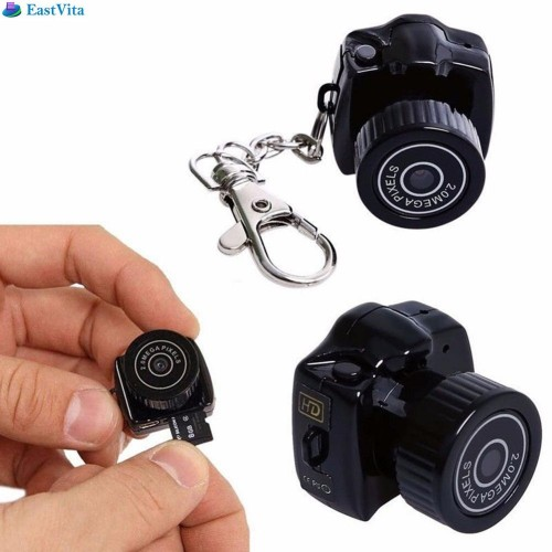 Mini Camera Micro DVR Camcorder Portable Webcam Voice Recorder 480P With Key Chain