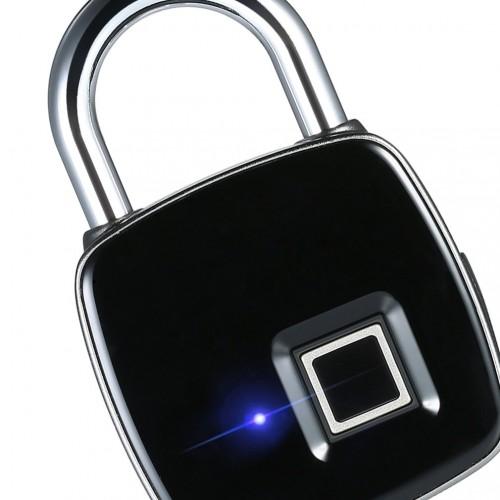 Electronic Intelligent Bluetooth Fingerprint Password Padlock Smart App Remote Management Mobile Phone Unlock