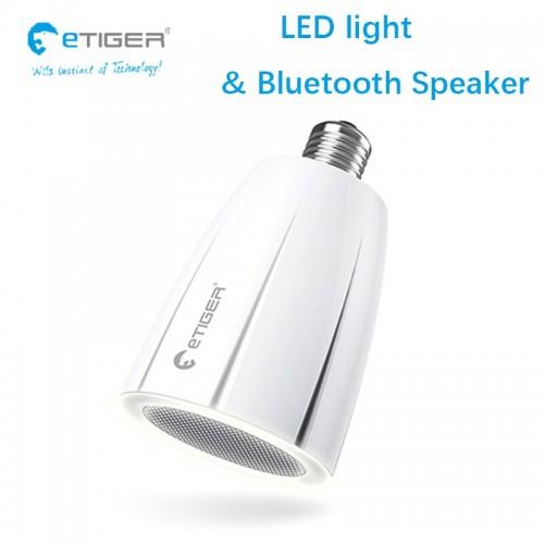 ETIGER A0-CL01 COSMIC LED 7.6W BLUETOOTH WIRELESS SPEAKER DESIGNED IN FRANCE