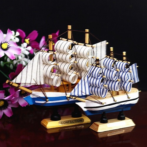 European-style Sailing Cake Decoration Creative Birthday Gift Smooth Sailing