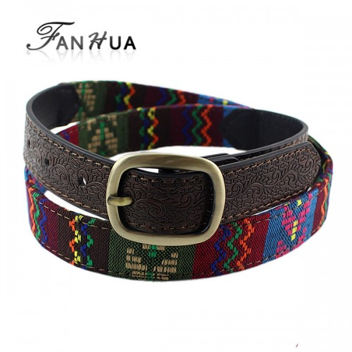 Colorful Imitation Leather Long Belts