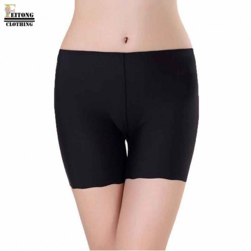 Cool New Mid Rise Panties For Women Underwear Seamless Panties Boy Short Ice Silk Material