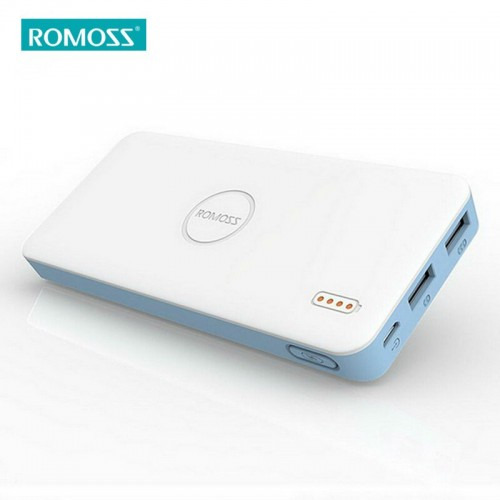 ROMOSS 10000mAh Polymos 10 Air for All Phones Tablet PC Portable Power Bank 5V Dual USB Output