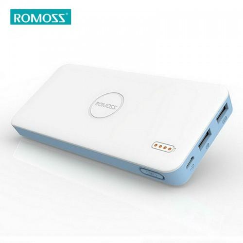 ROMOSS 10000mAh Polymos 10 Air for All Phones Tablet PC Portable Power Bank 5V Dual USB Output