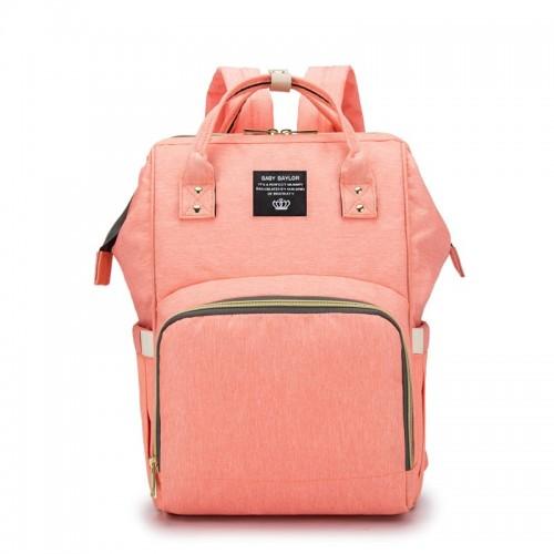 Waterproof Baby Nappy Nursing Bags Mummy Diaper Bag Travel Backpack Large Capacity Solid Handbag
