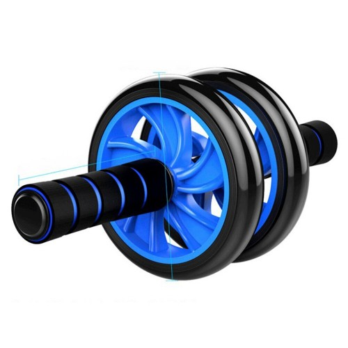Double Wheel Fitness Equipment ABS Abdominal Muscle Trainer Roller Gym At Home Workout