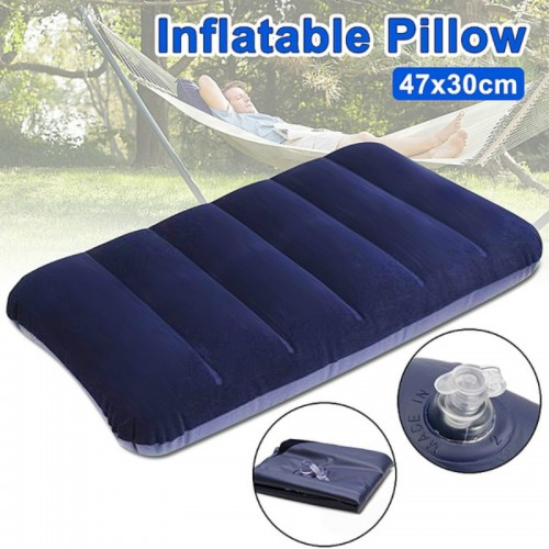 Foldable Pillow Outdoor Travel Sleep Pillow Air Inflatable Pillows Portable Cushion