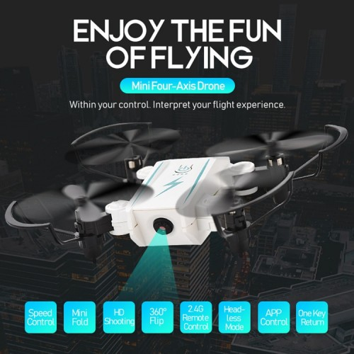 Mini Drone 2.4G Remote Control 4 Axis RC Micro Quadcopters With Headless Mode Flying Helicopter