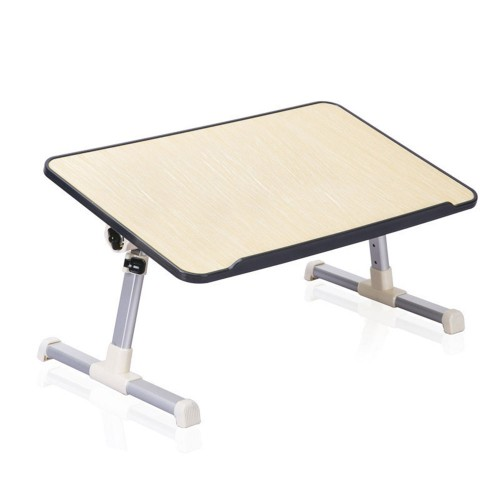 Folding Computer Desk Student Bed Learning Reading Portable Picnic Table Adjustable Height