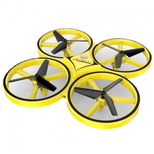Mini Infrared Induction Hand Control Drone Anti-collision LED Gravity Sensing Firefly Quadcopter