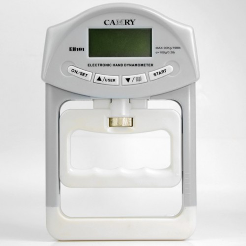 Camry Hand Grip Strength Meter Electronic Hand Dynamometer Capacity 90KG