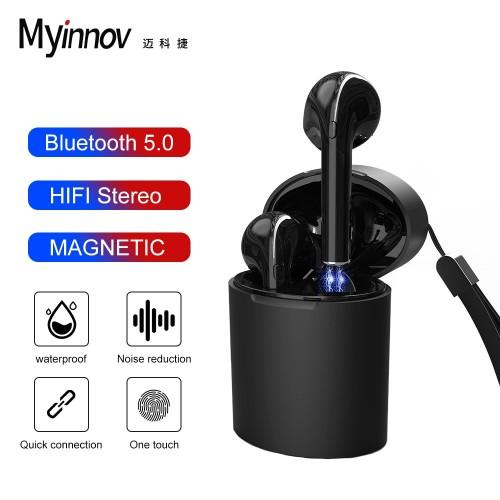 Myinnov Bluetooth X10 V5.0 Earphone Wireless Earphone With Microphone Waterproof