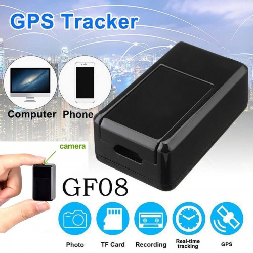 GF08 Mini GPS Real Time Car Locator Tracker Magnetic GSM/GPRS Tracking Device