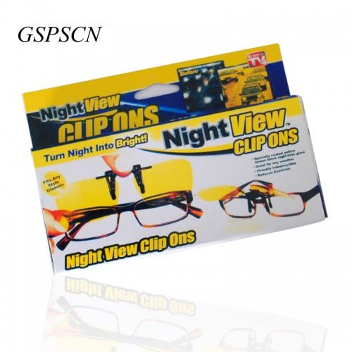 Clip On Sunglasses Men Luxury Ultralight Myopia Glasses Clip Car Drive High Quality