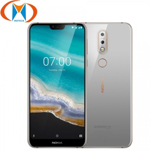 Nokia 7.1 Mobile Phone 5.84 Snapdragon 636 4GB RAM 64GB ROM Octa Core Fingerprint NFC Smartphone