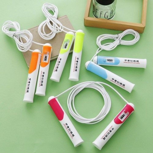 High Quality Counting Rope Skipping Special Training  Bodybuilding Fitness  Jumping Rope