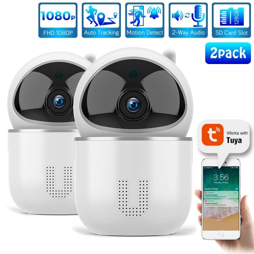 HD 1080P IP Cloud  Camera Smart Auto Tracking Wireless Home Security CCTV Camera