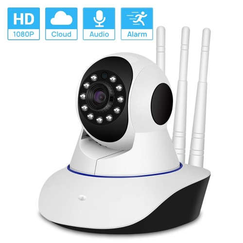 HD 1080P WiFi IP Camera Night Vision Smart Auto Tracking Remote Access Baby Monitor