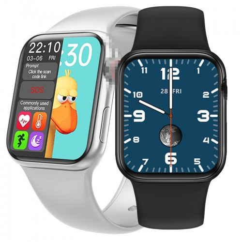 HW12 1.57' Bluetooth call Music Player Heart Rate Monitor Smart split screen Smart Watch