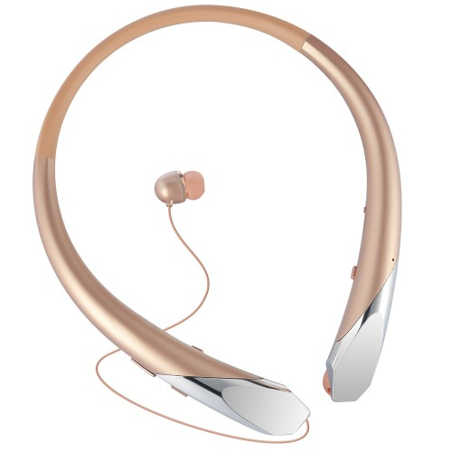 Portable Bluetooth Headphones Mini Wireless Handsfree Neckband Sports