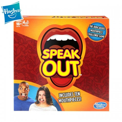 Speak Out Game Ridiculous Mouthpiece Challenge Game Family Party Funny Tricky Multiplayer Game