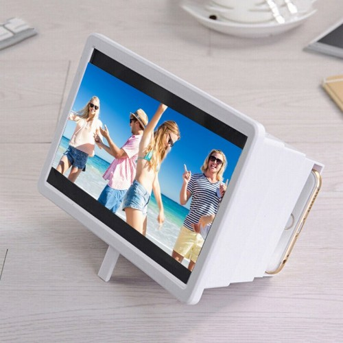 Portable 3D Video Enlarge Smartphone Screen Magnifier