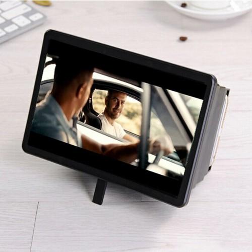 Portable 3D Video Enlarge Smartphone Screen Magnifier