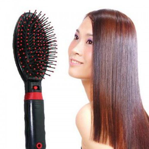 Electric Frosted Massage Comb Vibrating Massage Hair Brush Electrodos Relaxation Massage Comb Hair Care
