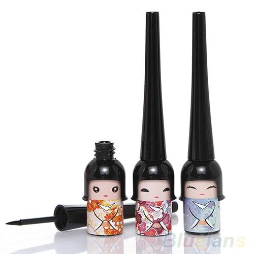 High Quality Black Waterproof Cute Doll Eyeliner Liquid Pen Makeup Cosmetic Eye Liner