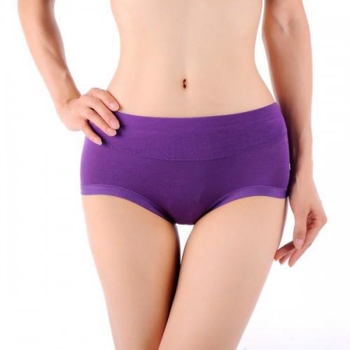 Bamboo Fiber Antibacterial Underwear For Women