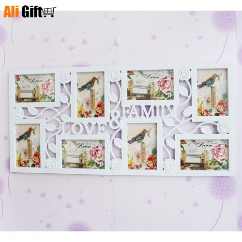 Creative Family Photo Frame European Style Decorative Wall Picture Frame