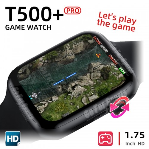 T500+ Pro Series 6 Full Touch Screen Bluetooth Fitness Smart Watch