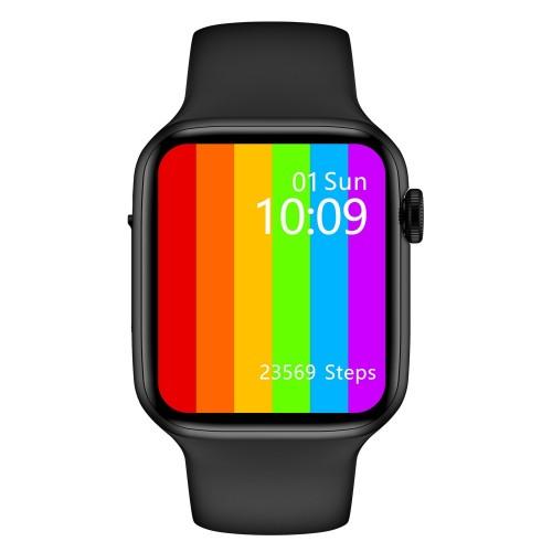 W26 Bluetooth Call Music Player Heart Rate Monitor Smart Split Screen Smart Watch