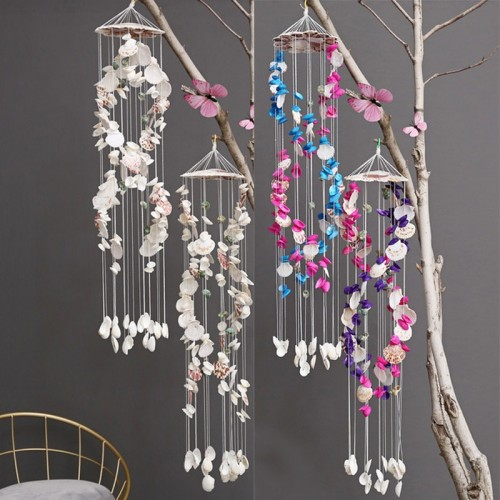 Japanese Wind Chimes Bells Hanging Ornaments Mediterranean Style Home Garden Decoration