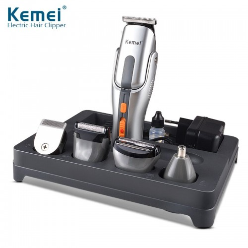 Kemei 680A Multifunction New Cutter Electric  Rechargeable Hair Trimmer Shaver Cordless Adjustable Clipper