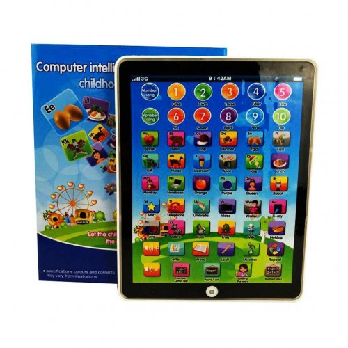 Kids Mini Imitative iPad Toy Intelligent Early Educational Learning Playing Tablet Toy Machine