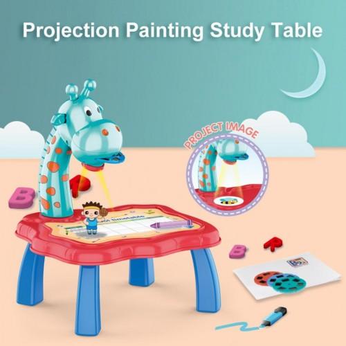Kids Projector Desk Board Multi-color Different Mainframe Films Educational Smart Sketcher