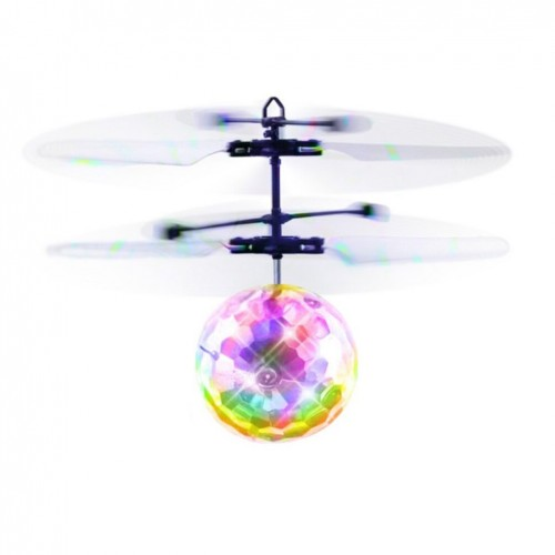 LED Flying Ball Infrared Induction Flying Helicopter Balls Unique Remote Control Flying Toy With Shining LED Light